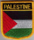 Palestine Embroidered Flag Patch, style 07.